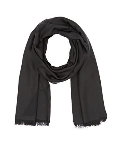 Emporio Armani Fular Wool Negro