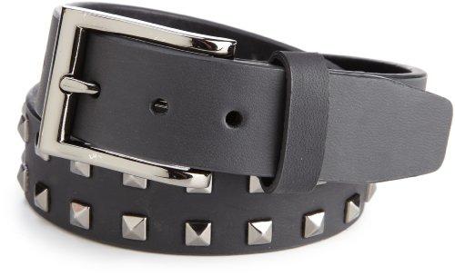 Levi's Big Boys' Stud Detail Belt, Black, X-Large