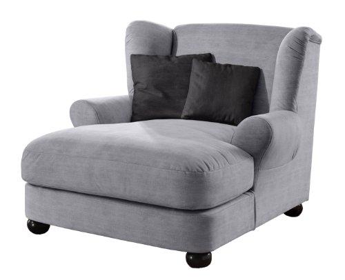 cavadore 375 big sessel oasis grau wohnwelten. Black Bedroom Furniture Sets. Home Design Ideas