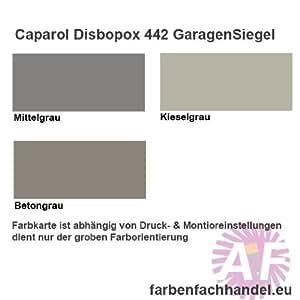 caparol disbopox 442 garagensiegel kieselgrau 10kg k che haushalt. Black Bedroom Furniture Sets. Home Design Ideas