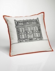 Conran House Print Cushion