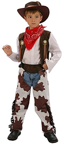 Cohaco Boy's Western Country Cowboy Costume (M (Height 43.3