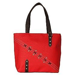 Glory Fashion Women's Stylish Handbag Red-GF-209