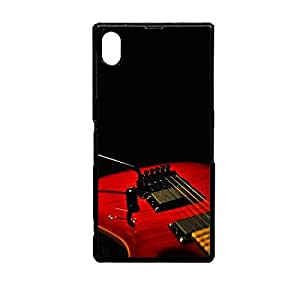 Vibhar printed case back cover for Sony Xperia Z3 ElectricGuitar