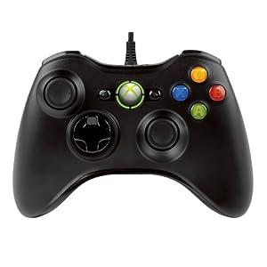 Xbox 360 コントローラー (リキッド ブラック)