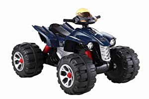 Unique 2014 Model Raptor 12v Quad Bike In Blue,now Bigger Better And Stronger ,with Music Function , High And Low Speed