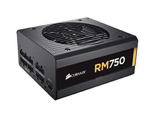 Corsair RM Series, RM750, 750 Watt (750W), Fully Modular Power Supply, 80+ Gold Certified (Modular 750 Watt Psu compare prices)