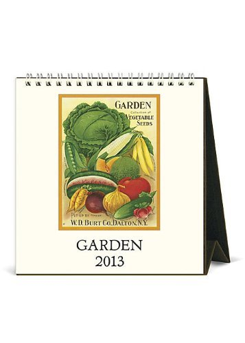 2013 Classic Nature's Beauty Garden Desk Calendar,