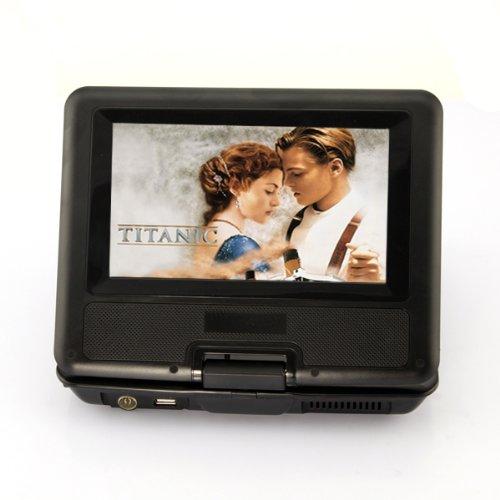 DB Power Portable DVD Player, LCD Screen MP3 MP4 USB TV Car Mount FM TXT Function