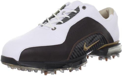 Nike Golf Men's Nike Zoom Advance Golf Shoe,White/Bronze/Brown,12 M US