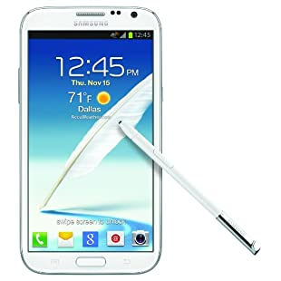 Samsung Galaxy Note II 4G Phone (White, AT&T)