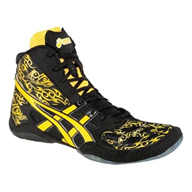 Amazon.com: Asics Split Second 9 LE - TATOO - Wrestling Shoes - Black