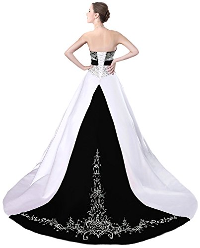 Faironly-D229-Womens-Wedding-Dress-Bridal-Gown