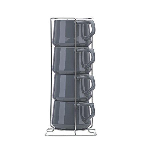 Dansk Kobenstyle Teacup With Rack, Slate