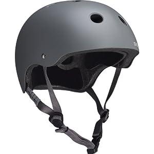 Pro-tec Classic Skate Matte Skateboard Helmet, Grey, Large