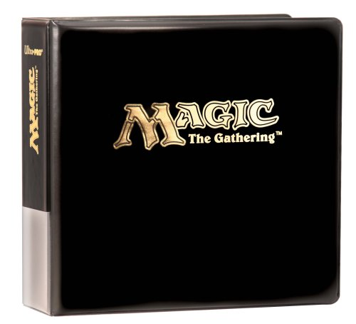 Ultra Pro Premium Album For Standard Size Pages With Gold Magic