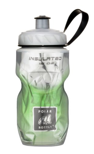 Polar Bottle Insulated Water Bottle (Green Fade) (12 oz) - 100% BPA-Free Water Bottle - Perfect Cycling or Sports Water Bottle - Dishwasher & Freezer Safe (Polar Sport Bottle compare prices)