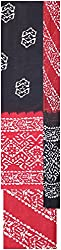 Payal Collection's Women's Cotton Unstitched Salwar (Black and Red)