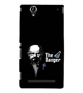 EPICCASE Breaking meth Mobile Back Case Cover For Sony Xperia T2 (Designer Case)