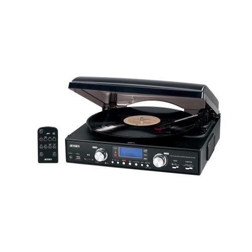 1-3-Speed-Stereo-Turntable-with-MP3-Encoding-System-Belt-driven-3-speed-stereo-turntable-33-13-45-78rpm-MP3-compatible-JTA-460