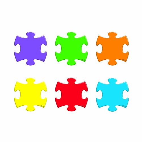 ARGUS Puzzle Pieces Mini Accents, 36 per Package (T-10805) - 1