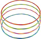 PACK OF 12 - Deluxe Hula Hoops (76cm/30ins) Assorted Colours