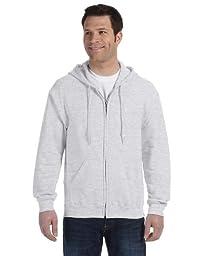 �Gildan Adult Heavy Blend� Full-Zip Hooded Sweatshirt (Ash) (2X-Large)