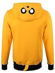 Adventure Time Men's Jake AT Hoodie Yellow