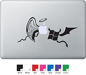 Mac vs PC Decal for Macbook, Air, Pro or Ipad