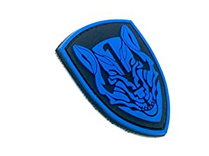 Medal Of Honor MOH Wolfpack Bleu PVC Airsoft Velcro PVC Patch