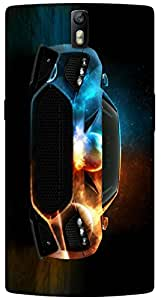 Timpax protective Armor Hard Bumper Back Case Cover. Multicolor printed on 3 Dimensional case with latest & finest graphic design art. Compatible with One Plus One ( 1+1 ) Design No : TDZ-24692