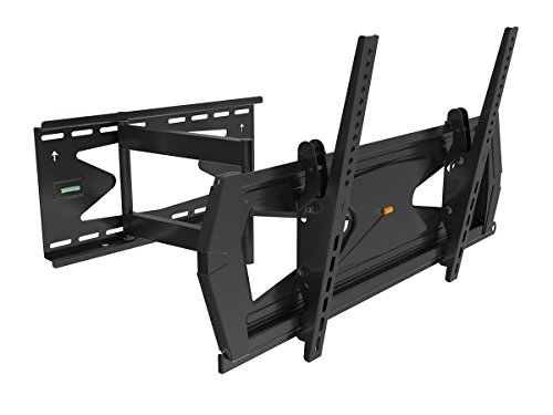 Black Full-Motion Tilt/Swivel Wall Mount Bracket with Anti-Theft Feature for LG 60LB6300 60