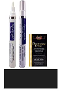 2009 Mini Cooper Astro Black A25 Touch Up Paint Pen Kit - Original Factory OEM Automotive Paint - Color Match Guaranteed