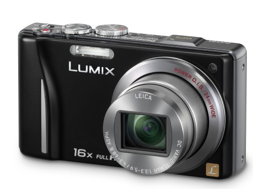 Panasonic Lumix TZ20 Digital Camera - Black (14.1MP
