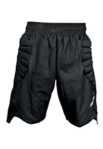 Reusch Adult Eldarion Goalkeeper Shorts, Black/Grey, Large
