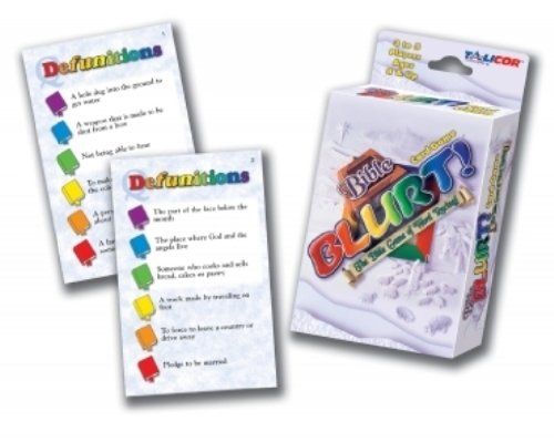 Bible Big Deal Blurt Card Game - 1