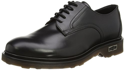 Cult Ozzy Low 412 Brush.Leath., Scarpe basse, Uomo, Nero (Black), 42