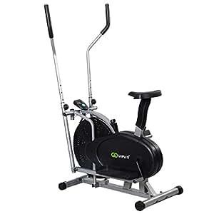Goplus® 2 IN 1 Elliptical Bike Exercise