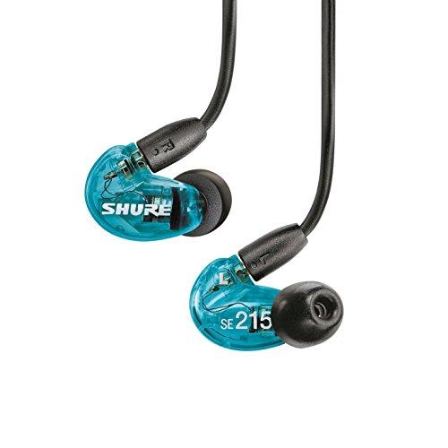 【国内正規品】SHURE カナル型 高遮音性イヤホン SE215 Special Edition トランススルーセントブルー SE215SPE-A