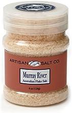 Artisan Salt Co Murray River Australian Pink Flake Salt 4 Ounce Jar