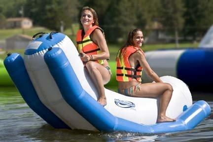 Aviva Sports 1013689 Splash Totter Water Inflatable Teeter Totter