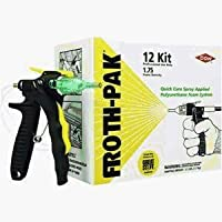 Froth-Pak 12 Spray Foam Sealant System