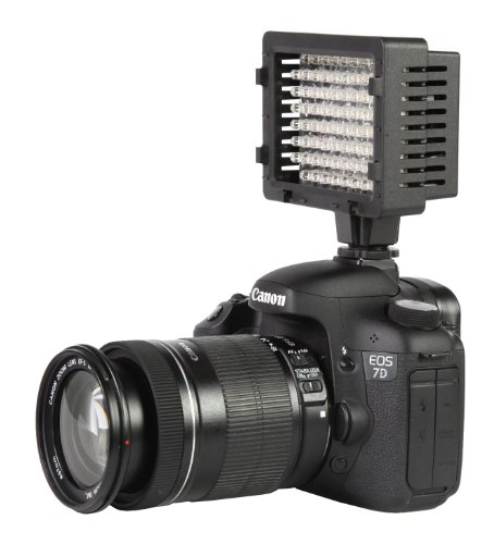 Cn-76 Led Video Light Ultra High Power 76 Led Video Light For Dv Camera And Camcorder Lighting