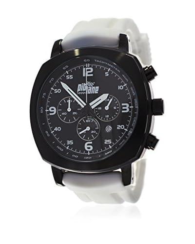 Pit Lane Reloj con movimiento Miyota Pl-1005-1 Blanco 42 mm