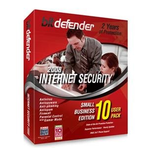 BitDefender Internet Security 2008 - 2 Year/10 Pc's