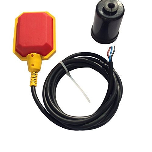 Float Switch w / 10 ft Cable, Septic System, Sump Pump, Water Tank (Closed System Water Pump compare prices)