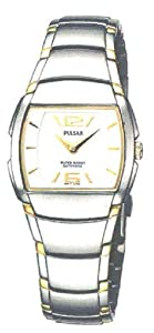 Pulsar by Seiko Women's Classic Watch, Two Tone Silver & Gold Stainless Steel, Sapphire Crystal PTA281