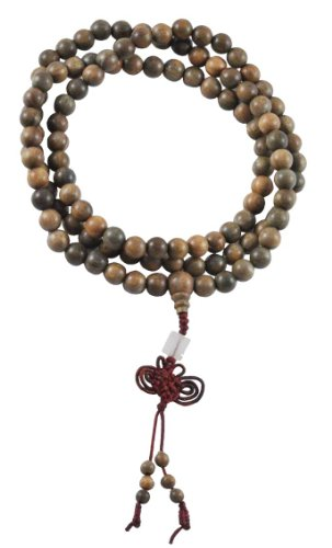 Sandalwood Premium Quality Tibetan 8mm Elastic Prayer Beads, Tibetan Mala, Sandalwood Necklace, Wrist Mala, Anklet