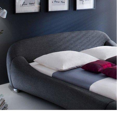 "Betten Komplettset ""Paloma"" NV (Anthrazit, 160 x 200 cm)"