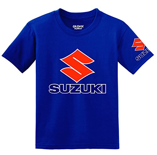 suzuki-logo-with-sleeve-t-shirt-large-blue